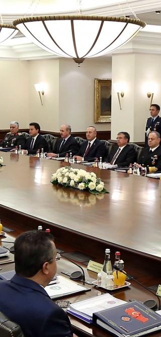 Sizuung des Nationalen Sicherheitsrates MGK