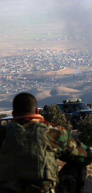 irakische Kurden im Sindschar-Gebirge