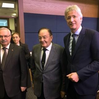 Delegation des Deutschen Anwaltsvereins in Ankara