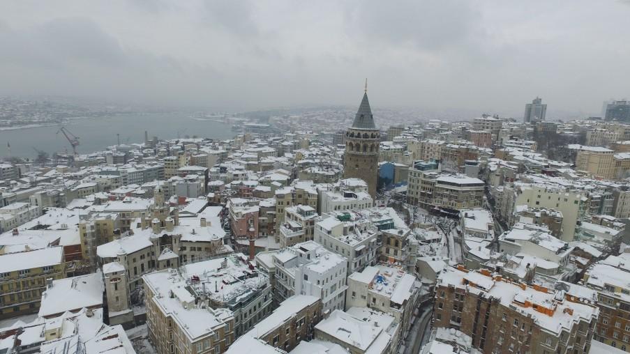 Der Galata-Turm, eines der Wahrzeichen der Stadt