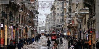 Istanbul im Januar 2017