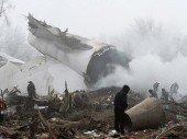 Bischkek: Türkischer Jumbo-Jet stürzt in Wohnsiedlung, dutzende Tote
