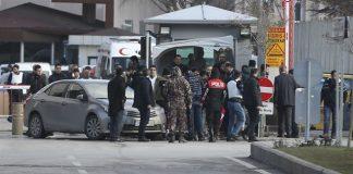 Schiesserei vor Polizeihauptquartier in Gaziantep