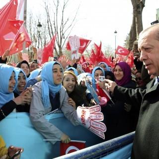 türkischer Staatspräsident Erdogan