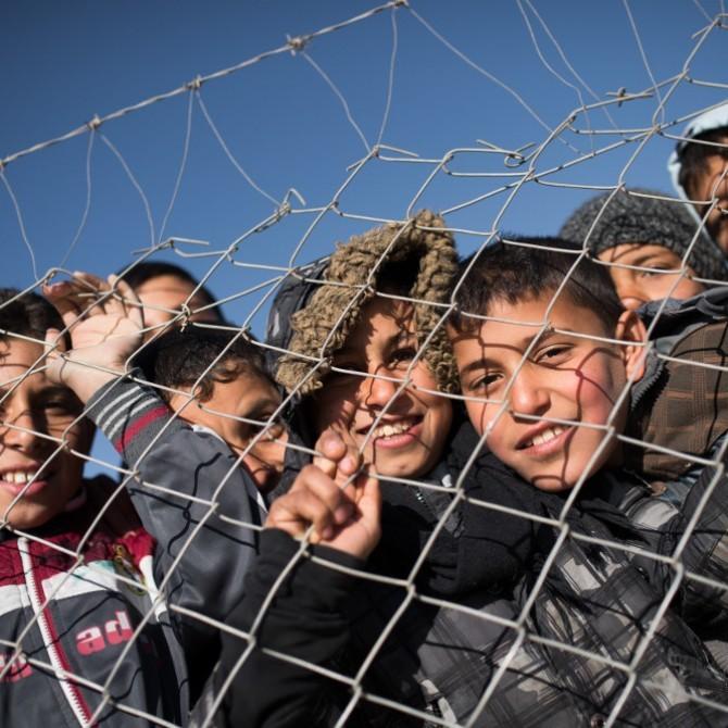 Kinder im Flüchtlingslager Debaga 2 im Nordirak