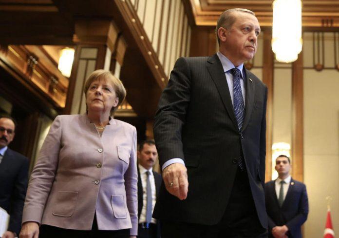 Angela Merkel und Recep Tayyip Erdoğan