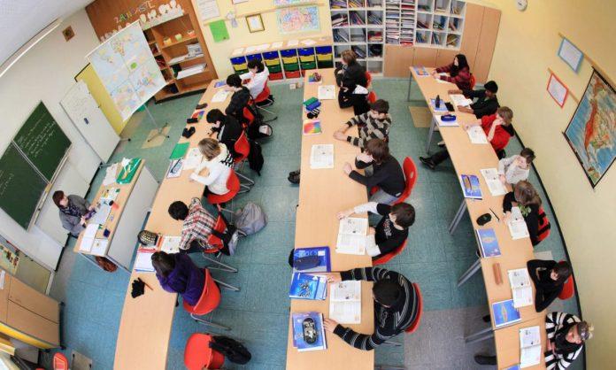 Klassenzimmer in NRW