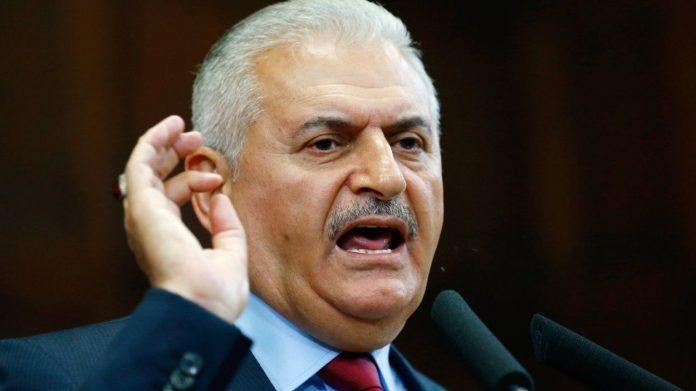 türkischer Ministerpräsident Binali Yildirim