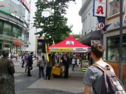 Öcalan-Poster: Verbotene Fahnen in Wuppertal gesichtet