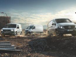 Mercedes-Benz stellt Transporter-Flotte auf E-Mobilität um