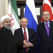 Russland, Türkei und Iran sprechen sich für neue Syrien-Konferenz aus