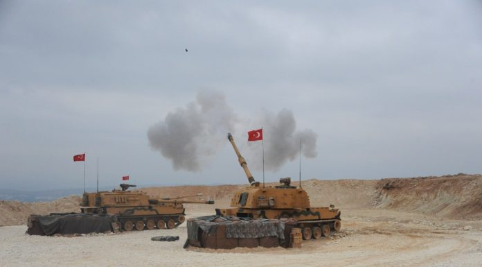 Türkische Militäroffensive in Nordsyrien
